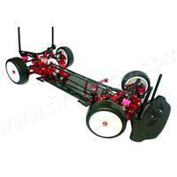 Carbon Chassis Aluminum Parts 1/10 RC Racing Touring Car Kit for Sakura XI