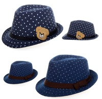 Kids Girls Boys Fashion Top Fedora Cap Sun Jazz Hat Blues Jazz Dance Fit Gift