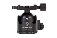 SUNWAYFOTO XB Series Superior Low-Profile Ball Head XB-44 With a Standard Screw-Knob Clamp