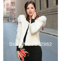Classica ladies elegant faux  fur coat women luxurious fashionable women's new fur coats