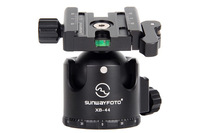 SUNWAYFOTO XB-44DL Ballhead With Duo-Lever Clamp, Free Shipping