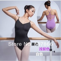 Free shopping - New Adult's  Cotton Ballet Dance Gymnastics Leotard  Dance Dress With Lace