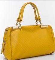 The new one shoulder hand aslant fashionable joker bag transverse leather  briefcase women