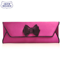 Fashion vintage female day clutch bag 2014 women's handbag bags clutch bag female day clutch bow