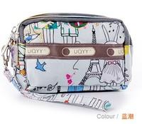 2013 women's handbag zipper coin case day clutch coin purse mobile phone key wallet small bag