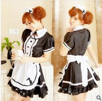 Cospaly Sexy lingerie 85004 for woman The maid outfit design black