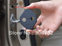 Free shipping! 4 pcs door  lock buckle decoration  For Honda CRV CR-V 2012 2013