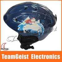 Moon ski Sports helmet / snow helmet Ski Helmets / Snowboard Skateboard Safety Head Helmet size 52-62cm Special 2014 Christmas