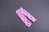 2013 female child sweet bow home pajama pants Freeshipping