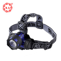Free shipping 3w Led headlamp  fishing lamp night fishing lights AAA battery  ABS materials 160LM 3.5*2.5CM  LOW Price !