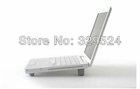 "4pcs/lot Silver Color Plastic Laptop Stand for 10""-22"" Notebook"