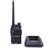 BAOFENG UV-5R 136-174/400-480Mhz Dual Band UHF/VHF Portable Radio Interphone Walkie Talkie EU Plug Available