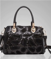 New retro one shoulder strap handbags vintage leather  genuine leather bag