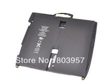 Free Shipping 1piece 3.7V 5400mAh Battery for iPad A1337(Non 3G Enabled Models), iPad A1219(3G Enabled Models)