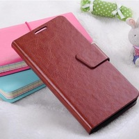 New Arrival Leather Case For HTC ONE M7 Wallet Stand Cover With Card Holder For htc one Case Free Shipping