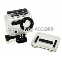 Retail Non-waterproof Protective Housing for Gopro HERO 2, Backdoor with Hole, Gopro Accessories GP88