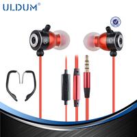 ULDUM fashion metal Christmas gift ear hook earphone