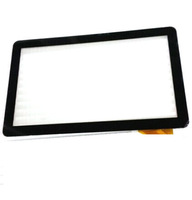 "10.1"" 10.1Inch Black New Capacitive Touch Screen Panel Digitizer Glass Replacement for Assistant AP-100 AD-C-100050-1-FPC"
