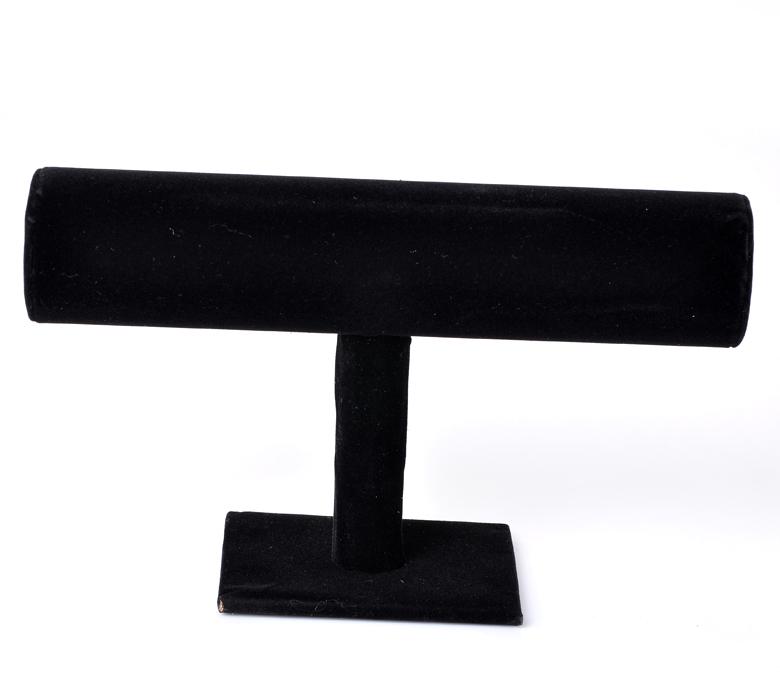 "1PC Black Velvet Bracelet/ Bangle Jewelry Display Stand 23x14cm(9""x5 4/8"")(China (Mainland))"