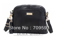 2013 Genuine Leather Oblique satchel black shell package one shoulder restoring ancient ways across the leather bag( 231)