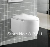 CY3160-sanitary ware ceramic P-trap washdown wall hung toilet