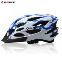 Free HKPOST 3COLOR Genuine INBIK folding Mountain bike helmet integrated -molded Helmet riding equipment Bicycle Helmets M0041