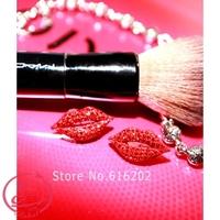 Women's Earrings Full Rhinestone Stud Earring Red Lip Stud Earring Earrings Women's Fashon Accessaries Free Shipping