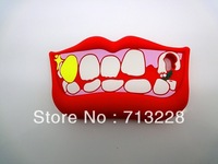 Free shipping Cute Lips Shape Soft Silicone Case for iPhone 5