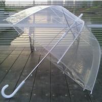 Transparent umbrella overstretches thickening mushroom umbrella bubble umbrella arch umbrella apollo umbrella dance props