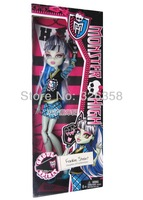 MONSTER HIGH Original Dolls,Ghoul Spirit,Frankie stein,mini dolls for girls+free shipping