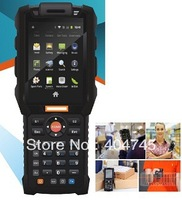Free shipping, rugged IP64 Handheld data collection terminal,Mobile Computer,WiFi,3G,WCDMA,Bluetooth,1D Laser Barcode,GPS