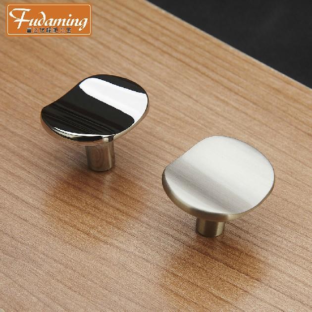 Fashion 10pcs Single Brushed Cabinet Knobs and Handles Furniture Drawer Pulls Kitchen Door Knobs Kids Pulls Wholesale(China (Mainland))