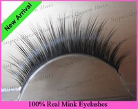 Free Shipping 3pcs/lot 002100% natural thick mink fur false eyelashes mink fur strip lashes eyelash extensions professional