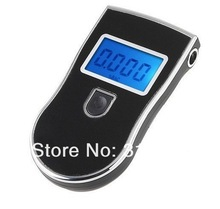 1000pcs/lot 2013 new patent portable digital mini breath alcohol tester wholesales a breathalyzer test with 5 mouthpiece AT818(China (Mainland))