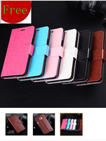 New Supply Crazy Horse pattern of high-end mobile phone leather protective shell around open magnet holster for Samsung I9100 S2