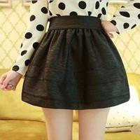 2013 Fashion Patchwork Women Short Skirt High Waisted Mini Tutu Skirts Free Shipping Three Colors For Choose