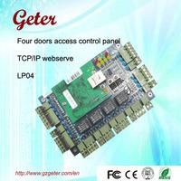 Hot sale weigand door access control panel for 4 doors with TCP/IP webserver LP04