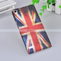 Cartoon Pattern TPU Mobile Phone Protective Case For HUAWEI Ascend P6