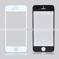 200pcs/Lot White/Black Touch Screen Glass Lens without Flex for iPhone 5
