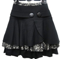 Free Shipping! New Arrival .2013 Women Autumn and Winter Half-skirt Bust A-line Fashion Slim Elegant Sweetie Skirt