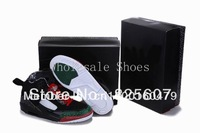 Free Shipping Retro 3.5 Spizike Men's Basketball Sport Footwear Sneakers Trainers Shoes - Black / White / Red / Green
