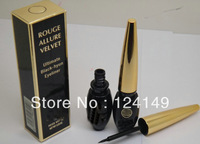 NEW FREE SHIPPING MAKEUP NEW LIQUID EYE LINER BLACK 8G (5 PCS LOT )
