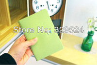 New 2014 PU Leather 18KGP Hasp Men and Women Travel Passport Covers
