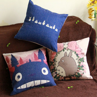 Free shipping Totoro siesta fluid sofa cushion pillow kaozhen