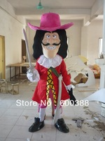 New costume adult plush Captain Hook mascot costume dora elmo barney doraemon kitty cartoon character costumes party