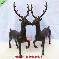 Art object Bronze 100% decoration Copper Bronze copper deer