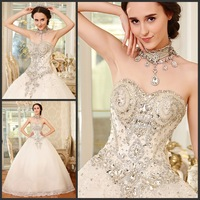 2013 wedding bandage tube top train wedding dress bride xj64312