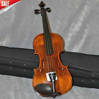 Violin Handmad spruce Violin high quality  side and back is maple, ebony Accessory, 4/4 Free shipping