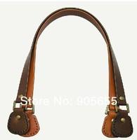 Free shipping High quality Genuine Leather Bag Handle. DIY handmade handbag accessories Handle/Blet/strap Leather 50*1.5cm