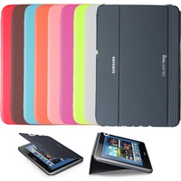 Free Shipping SAMSUNG GALAXY NOTE 10.1 2014 SM-P601 P601 SLIM BOOK COVER CASE HARD SHELL STAND